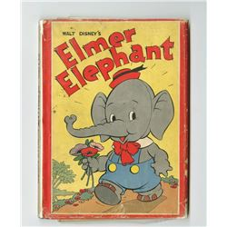 """Elmer Elephant"" Hardcover Book."
