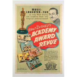 """Walt Disney's Academy Award Revue"" Original Release Poster."
