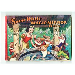 "Extremely Rare ""Snow White Magic Mirror"" Promotional Book and 3-D Glasses."