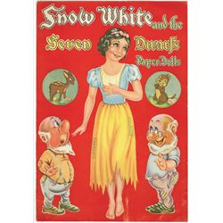 """Snow White and the Seven Dwarfs"" Paper Doll Book."