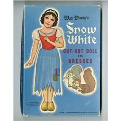 """Snow White And The Seven Dwarfs"" Cut-out Dolls and Outfits."
