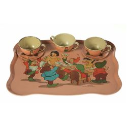 """Snow White and the Seven Dwarfs"" Tea Set."