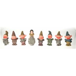 "Rare ""Snow White and the Seven Dwarfs"" Ornaments."
