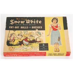 """Snow White and the Seven Dwarfs"" Cut-Out Dolls and Dresses."