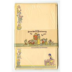 """Snow White and the Seven Dwarfs"" Stationery Set."