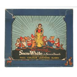 """Snow White and the Seven Dwarfs"" Lantern Slides."