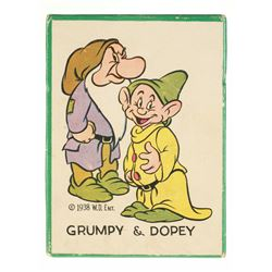 Grumpy & Dopey Shoe Brush in Original Box.