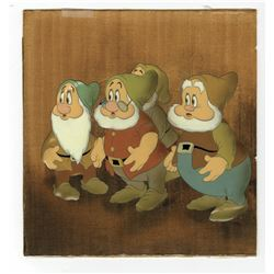 "Original Production Cel from ""Snow White and The Seven Dwarfs""."