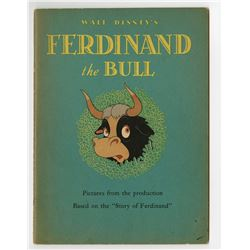 """Ferdinand the Bull"" Softcover Book."