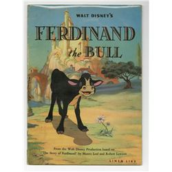 """Ferdinand the Bull"" Linen Like Book."