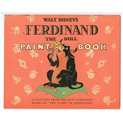 """Ferdinand the Bull"" Paint Book."