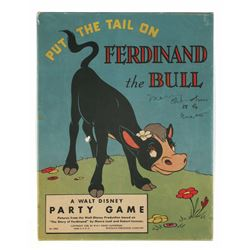 Put the Tail on Ferdinand the Bull Game.