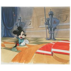 """Original Production Cel from """"The Brave Little Tailor""""."""