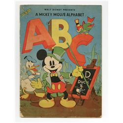 """""""A Mickey Mouse Alphabet Book""""."""