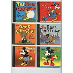 Group of (10) Whitman Hardcover Mini Books.
