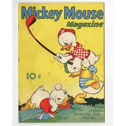 Pair of Mickey Mouse Magazine Issues.