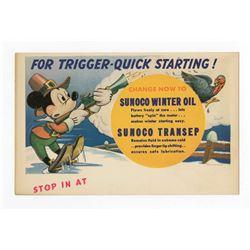 Sunoco Promotional Postcard.
