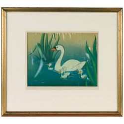 "Original Production Cel from ""The Ugly Duckling""."