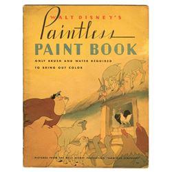 """Farmyard Symphony"" Paintless Paint Book."