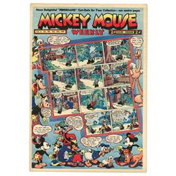 Collection of (46) issues of Mickey Mouse Weekly.