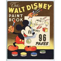 """The Walt Disney Paint Book""."