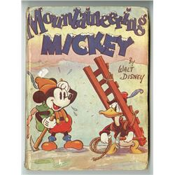 """Mountaineering Mickey"" Hardcover Book."