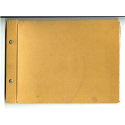 """Pinocchio"" Bound Photo Book."