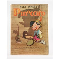 """Walt Disney's Version of Pinocchio"" 1st Edition Hardcover."
