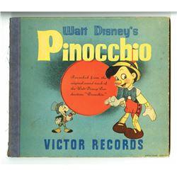 """Pinocchio"" Three Record Set."