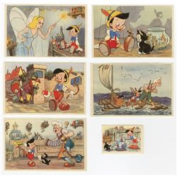 "Dutch Biscuit Collector Cards from ""Pinocchio""."