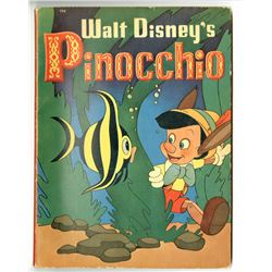 """Walt Disney's Pinocchio Book""."