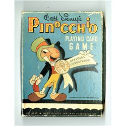 """Pinocchio"" Playing Card Game."