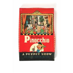 Pinocchio Puppet Show with Stage.