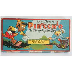 "Walt Disney's Pinocchio ""The Merry Puppet Game""."