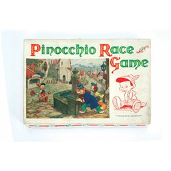 Pinocchio Race Game.