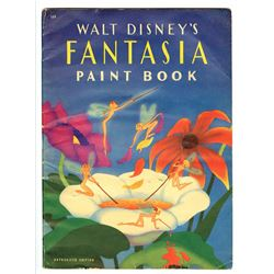 """Walt Disney's Fantasia Paint Book""."
