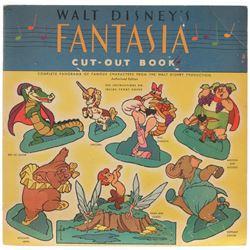 """""""Fantasia"""" Cut Out Book."""