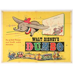 "British ""Dumbo"" ""Quad"" Poster."