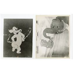"Collection of  (26) ""Dumbo"" Publicity Photos."
