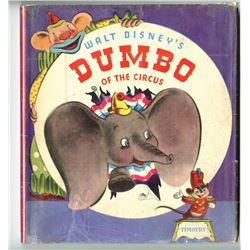 """Dumbo of the Circus"" 1st Edition Book with Dust Jacket."
