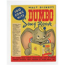 "Collection of (5) Copies ""Walt Disney's Dumbo Song Book""."