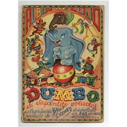 Album de Lujo Set of Dumbo Trading Cards.