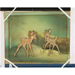 "Original Production Cel from ""Bambi""."