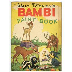 Bambi Paint Book .