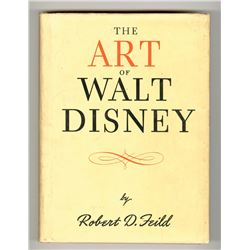 The Art of Walt Disney  First Edition.
