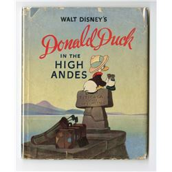 Donald Duck in the High Andes  Hardcover Book.