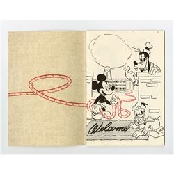 """The Ropes At Disney"" Employee Book."