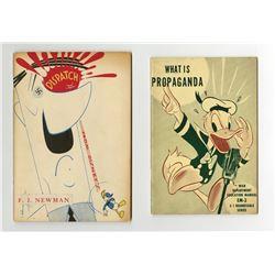 """Pair of  """"Disney's Dispatch"""" Publication."""