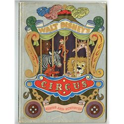 Walt Disney's Circus  Hardback Book.