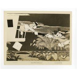 "Collection of (12) ""The Three Caballeros"" Publicity Photos."